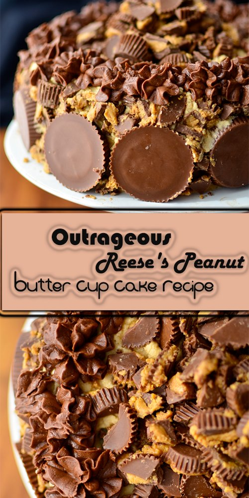 Outrageous Reese's Peanut Butter Cup Cake Recipe ...